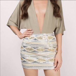 Sequin Skirt Tobi